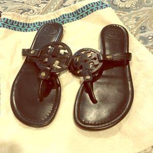 Black Tory Burch Miller sandal